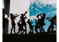 Artistas del gremio, una de las veintiséis bandas seleccionadas en la décima edición del circuito Girando Por Salas