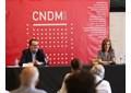 El director del CNDM, Paco Lorenzo, y la directora general del INAEM, Amaya de Miguel